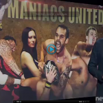 Maniacs United pro wrestling auckland new zealand tv3 apperance July 2015